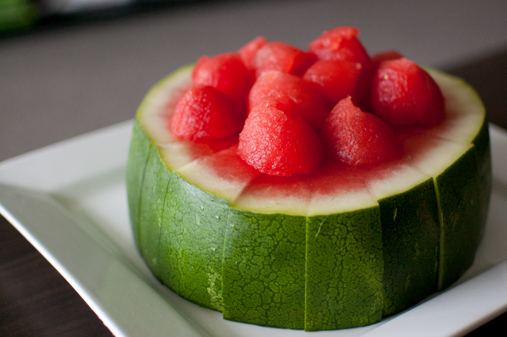 ... to baking a cake, is Martha Stewart's watermelon 'cake